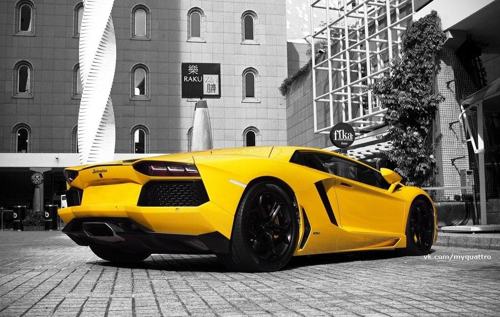 Lamborghini, Aventador, LP 700, ye…
